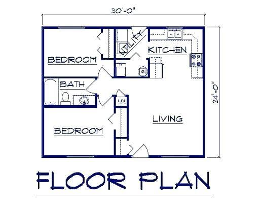 Garage Conversion Adu Floor Plan