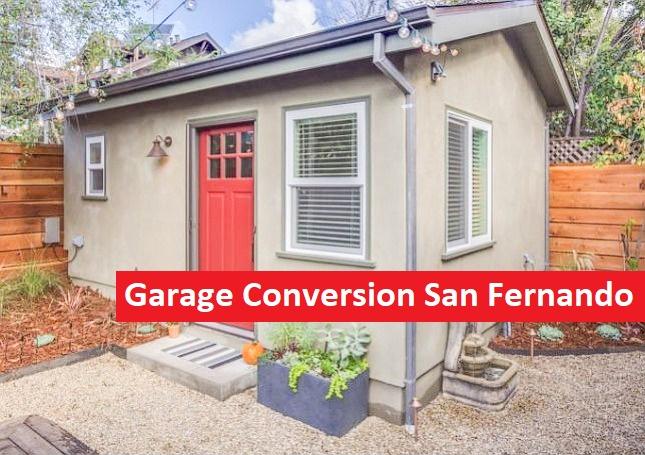 Garage Conversion San Fernando Adu General Contractor